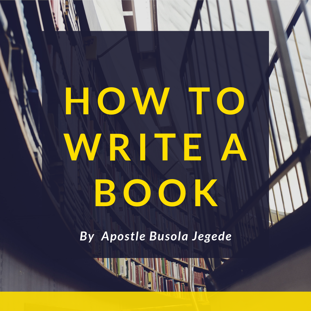 How To Write, Publish And Market Your Book