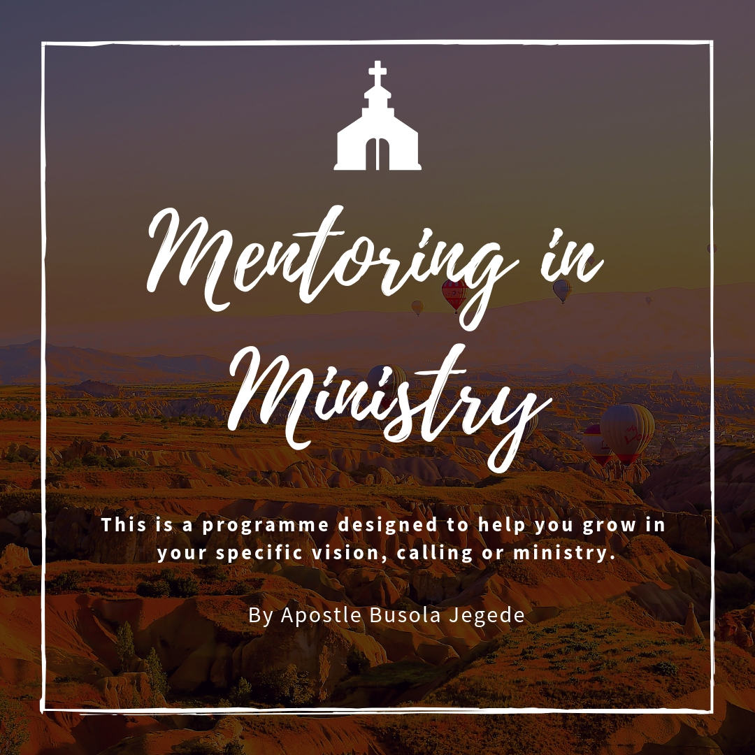 Mentoring In Ministry