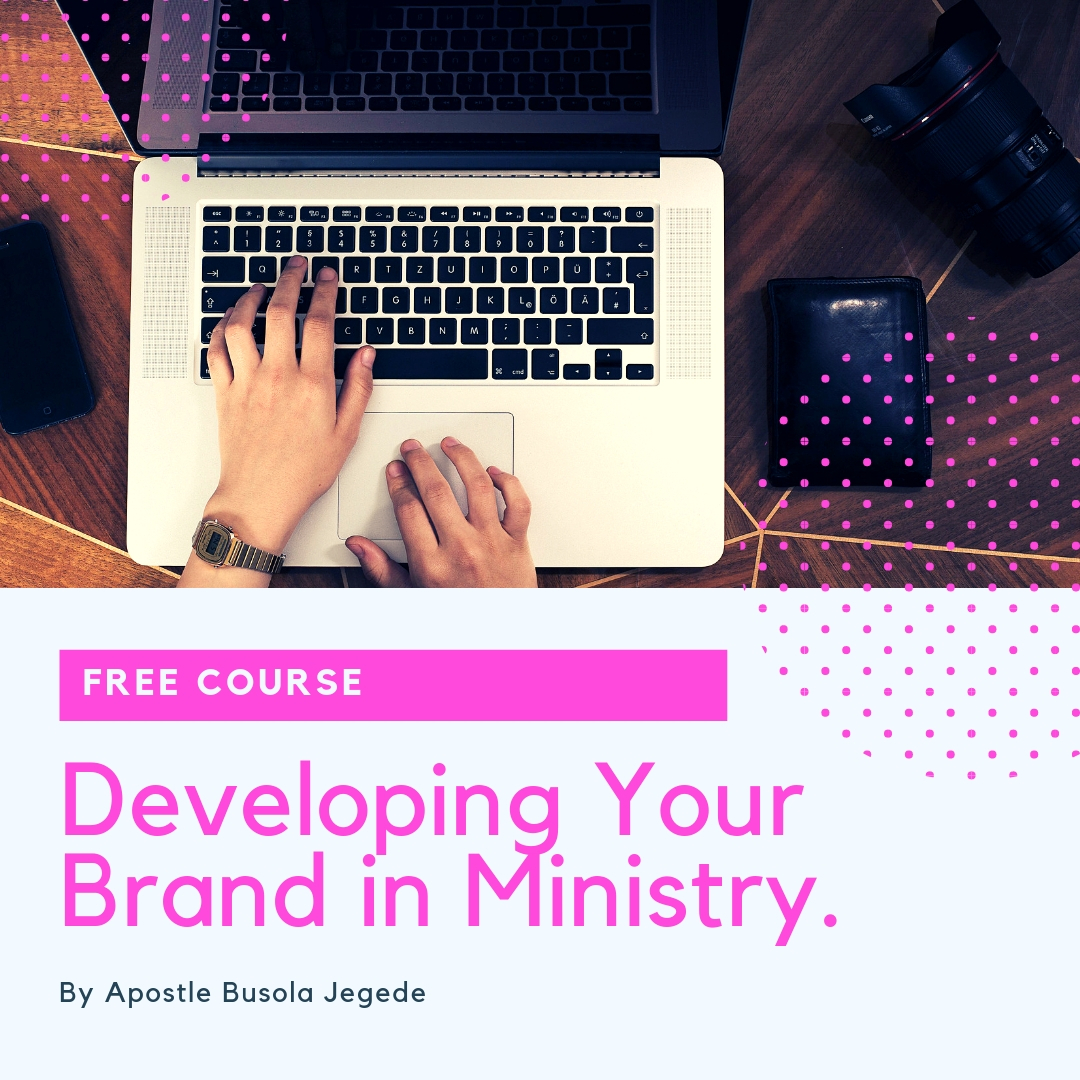 Developing Your Brand in Ministry